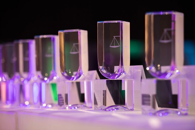 CGCA award trophies