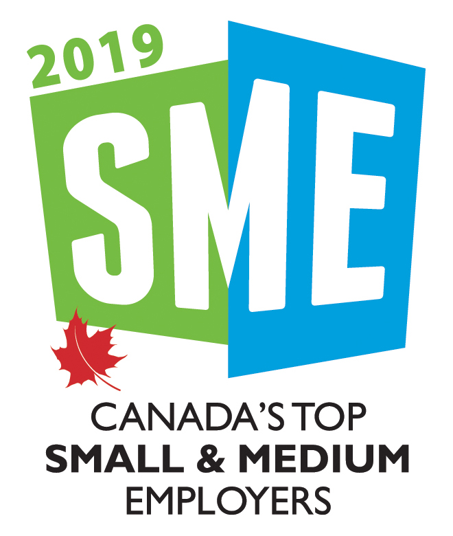 Canada's Top Small and Medium Employers 2019 Logo