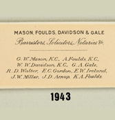 A Name Change – Mason, Foulds, Davidson & Gale