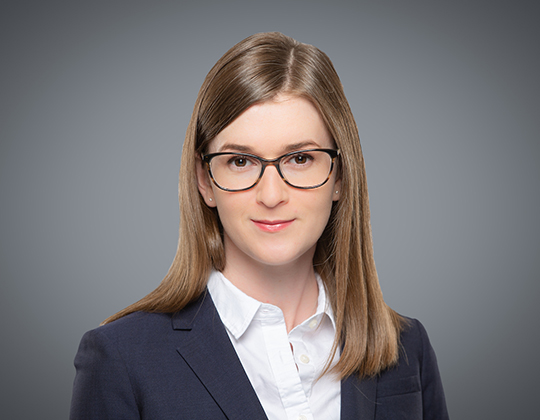 Hayley Peglar, Lawyer, Litigation Practice, WeirFoulds