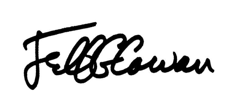 Jeff Cowan Signature