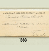 Name Change – Macdonald, Merritt, Shepley and Geddes