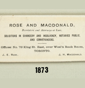 Name Change – Rose & Macdonald