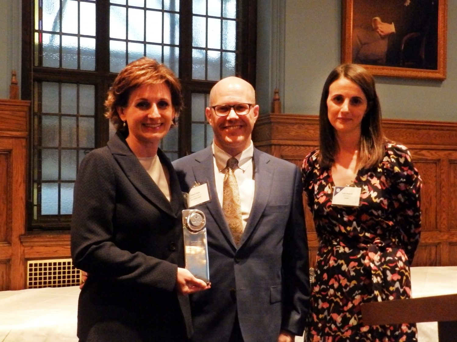 Sandra Astolfo holds OBA Construction and Infrastructure Law Award of Excellence