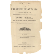 Rose – Ontario Statutes & Ontario Rules of Practice