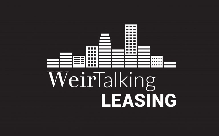WeirTalking Leasing Podcast Graphic