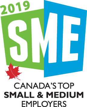 2019 Canada's Top Small and Medium Employers Logo
